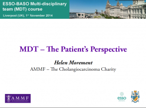 AMMF's Slide Presentation, ESSO BASO MDT Course