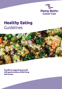 Penny Brohn Cancer Care – Healthy Eating Guidelines