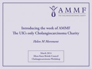 AMMF's Presentation at the Thai CC Workshop