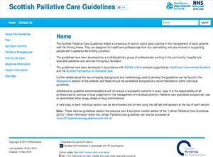 Scottish Palliative Care