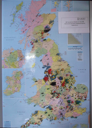 UK Location map -Web