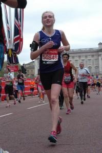 AMMF's Silver Bond runner, Rachel Munns