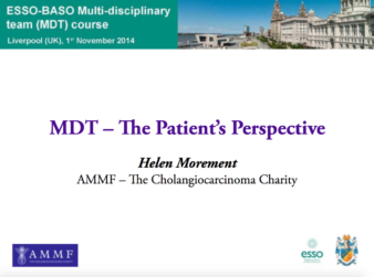 MDT - The Patients' Perspective