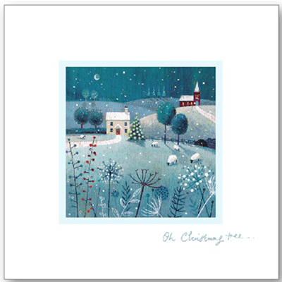 Xmas card AMMF 'Oh Christmas Tree'