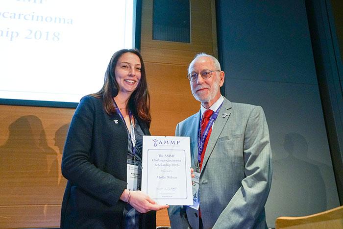 AMMF Scholarship Award to Mollie Wilson